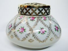 Flower Bowl H&S Limoges c.1920s by Yonks on Etsy, $46.00