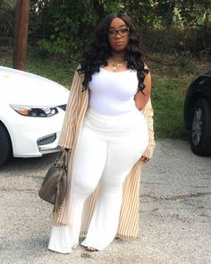 Thick Girl Fashion, Plus Size Fashion For Women, Curvy Women Fashion, Look Fashion, Plus Size Women, Fashion Outfits, Womens Fashion, Fashion Trends, Thick Girls Outfits