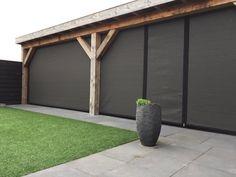 verandazeilen.nu – verandazeilen van HDPE Deck With Pergola, Pergola Patio, Backyard Patio, Backyard Landscaping, Garden Bar, Home And Garden, Gazebo Decorations, Patio Grill, Patio Enclosures