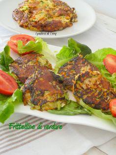 Buona serata a tutti con le mie Frittelline di verdure. E domani vi aspetto in Emilia romagna http://www.ipasticciditerry.com/frittelline-di-verdure/