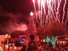 Christmas has begun in Grapevine Texas,,,,