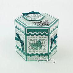 Kaleidoscope Hexagon box die set from Tonic Studios