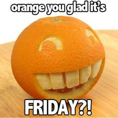 Annoying Orange Is Happy It's Friday   LolSpoon.Com