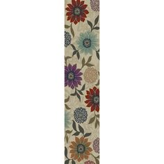 Oriental Weavers of America Cumberland 1-ft 10-in W x 7-ft 6-in L Cream Runner at Lowes.com