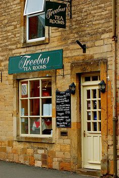 Tea Rooms in The Village of Stow-on-the-Wold, Cotswolds