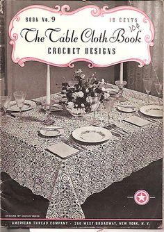 #vintage #crochet #history - 1940