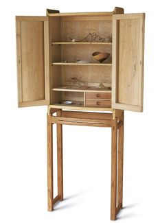 Spalted Maple Cabinet-on-Stand - Reader's Gallery - Fine Woodworking