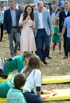 The duke and duchess of Cambridge visit Cornwall for a 2 day tour. Day 1