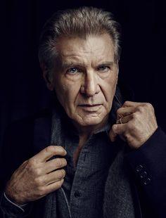 Harrison Ford, photographed by Joe Pugliese for Men's Journal, Jan/Feb 2016.