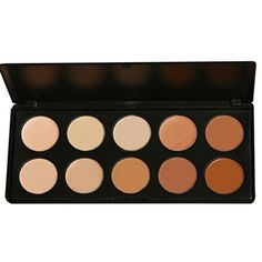 AENMIL 10 Color Concealer Camouflage Cosmetic Palette Set Makeup Salon ** You can find more details by visiting the image link.