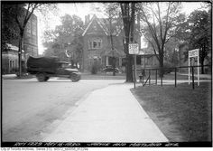 Jarvis and Maitland Streets - in Toronto - Wikimedia Commons Street Look, Back In Time, Great Shots, Present Day, Montreal, Toronto, Past, To Go, Sidewalk