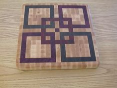 Beautiful end grain cutting boards free project plan - by ...