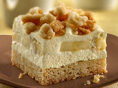 Banana Cream Squares: Absolutely delicious! I wouldn't change a thing in this recipe. This is will definitely be great for summer time. Came out exactly as pictured, and I got lots of requests for the recipe!