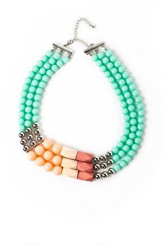 Sydney Colorblock Necklace