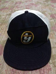 vtg TJ SPORTcap trucker adjustable hats by JunkMyHearts on Etsy