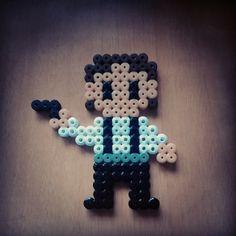 Han Solo Star Wars perler beads by yaredbluewind