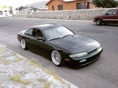 #Nissan #Silvia #Zenki #S14 #Slammed #Stance