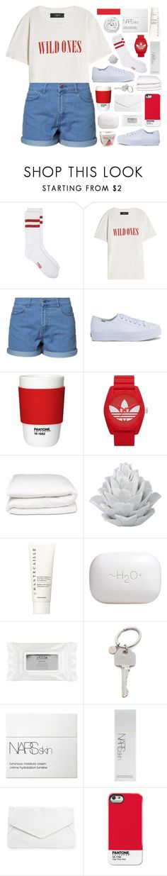 """TEENAGE DIRTBAG"" by embrxce ❤ liked on Polyvore featuring AMIRI, Just Female, Keds, Pantone, adidas Originals, Selfridges, Chantecaille, H2O+, Stila and Paul Smith"