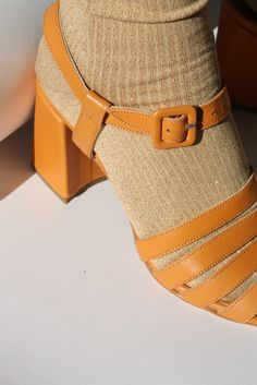 Top 7 Classy Women Heels Demanding Every Attention Daily - Shoes - Modest Summer fashion arrivals. New Looks and Trends. The Best of shoes in Modest Summer Outfits, Modest Summer Fashion, Socks And Sandals, Yellow Shoes, Summer Trends, Sock Shoes, Summer Shoes, Calves, Ibiza