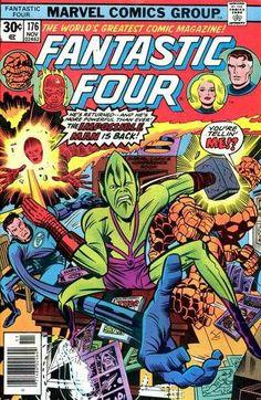 Fantastic Four # 176 by Jack Kirby & Joe Sinnott