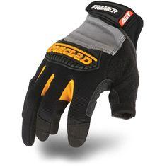 Framer XX-Large Gloves, Black/Gray