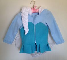 Etsy shop with super cute fleece hoodies inspired by Disney characters! adult and kid sizes.