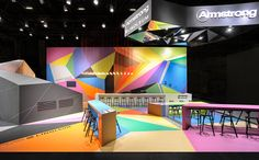 Armstrong – BAU 2013, Munich. A project by Ippolito Fleitz Group – Identity Architects.