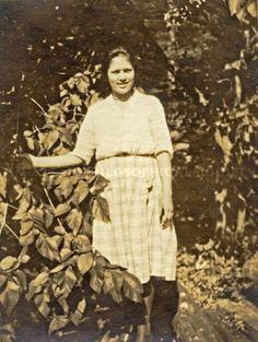 Doris Dauphinais - Abenaki - circa 1930