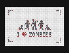 Я люблю зомби :)