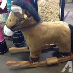 Plush Rocking Horse for Sale in Dallas, Texas Classified | AmericanListed.com