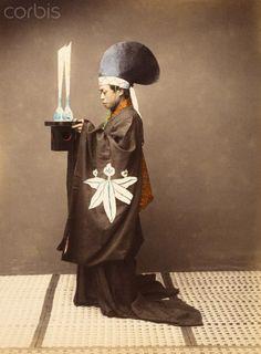 Shinto priest - Japan