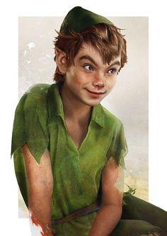 """Character Disney """"Peter Pan"""" in real life"""