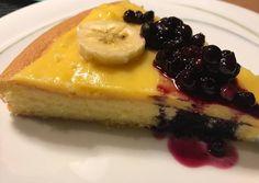 Vaníliás gyümölcstorta (glutén-, tejmentes, diabetikus) Cheesecake, Food, Cheesecakes, Essen, Meals, Yemek, Cherry Cheesecake Shooters, Eten