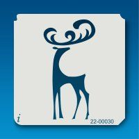 22-00030 Whimsical Deer Stencil