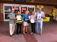 Members of the community in Redlands, CA swarmed their local Lowe's store to deliver a dozen Halloween cards to urge the retail giant to stop selling bee-killing products and plants pre-treated with the chemicals.