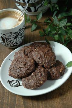Cookie with Marmalade: Czekoladowo - mietowe pieguski