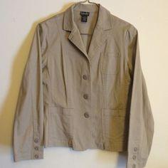 Rafaella Women's Jacket Rafaella brand gently used women's jacket. Tan in color size 10 Rafaella Jackets & Coats