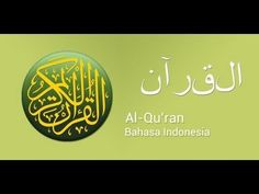 001 Al Faatihah - Holy Qur'an with Indonesian Translation