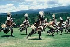 A dance being put on for guests at the Mt. Kenya Safari Club in Kenya.