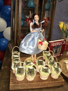 Lara and the Wizard of Oz | CatchMyParty.com