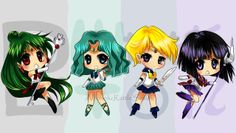 Sailor Moon / Outer Senshi