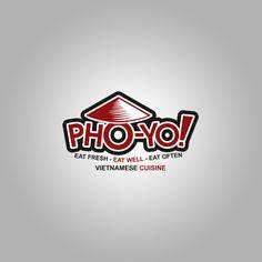 Logo Design for Pho Yo Vietnamese Cuisine #logodesign