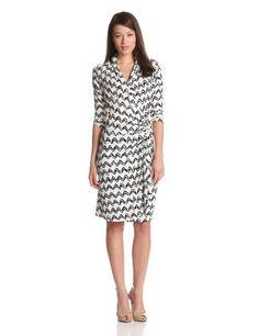 Karen Kane Women's Cascade Wrap Dress « MyStoreHome.com – Stay At Home and Shop