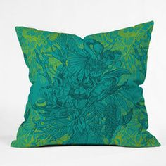 Geronimo Studio Amazonia Throw Pillow