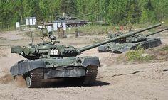 Танк Т-80: новые проекты модернизации