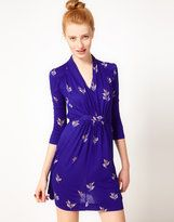 french connection vintage print dress