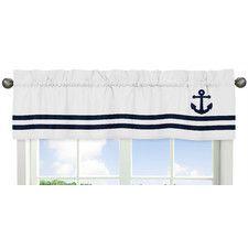 Anchors Away Window Valance
