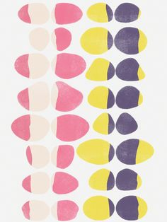Opposites Love:Painted Pebbles 3 - Art Print by Garima Dhawan/Society6