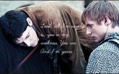 Merlin and Arthur || Supernatural quote