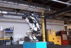 Boston Dynamics' Atlas humanoid robot